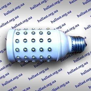 Светодиодная лампа с цоколем Е27 на 90 диодов, мощностью 5Вт