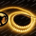 LED лента со светодиодами жёлтого цвета