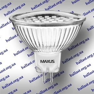 LED ЛАМПЫ MAXUS MR16 GU 5.3 ОПТОМ - ЦЕНА 28 ГРН