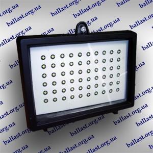 LED прожектор 4Вт 60 dip диодов в корпусе от 150Вт галогенки