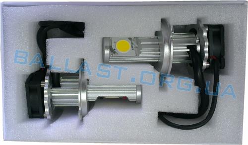 LED лампа H4, ближний дальний свет комплект