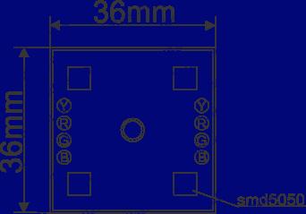Led модуль RGB, Led кластер RGB, светодиодные кластера RGB, светодиодные модули для рекламы RGB купить, Светодиодные модули для рекламы RGB