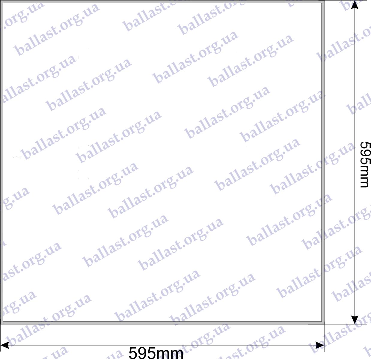 схема чертеж светодиодной панели армстронг электрум 40 вт