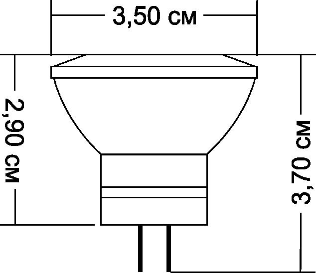 Led лампа для дома Electrum GU4