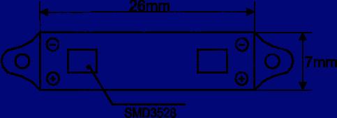 Led модуль M2SMD 3528 купить, Led кластер, светодиодные кластера, светодиодные модули для рекламы купить,